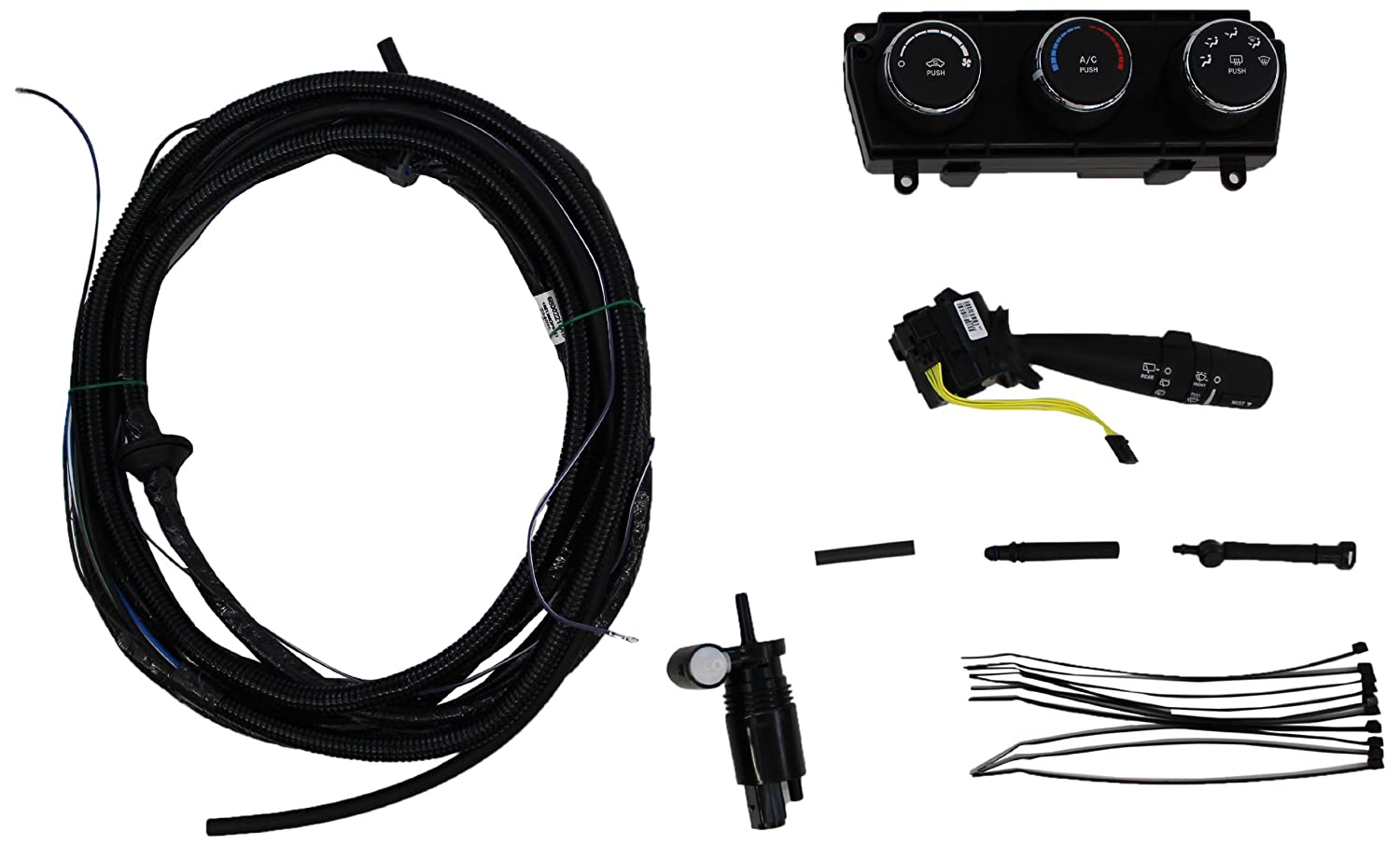 amazon com genuine jeep accessories 82212859 hard top wiring kit rh amazon com jeep wrangler hardtop wiring adapter harness jeep tj hardtop wiring harness