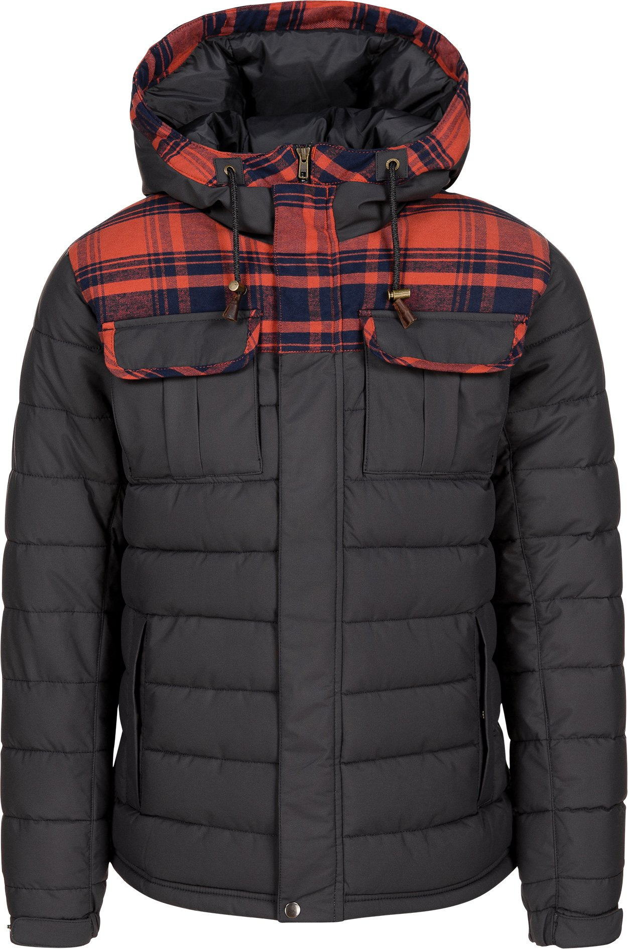 O'Neill Men's Charger Jacket, Small, Granite