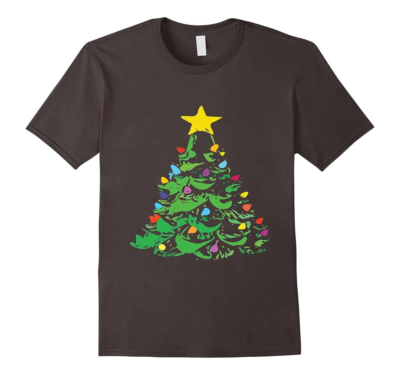 Retro Vintage Ceramic Christmas Tree Shirt Anz