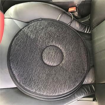 Swivel Seat Cushion Car Elderly 360 Rotation Lightweight Portable Memory Foam Auto