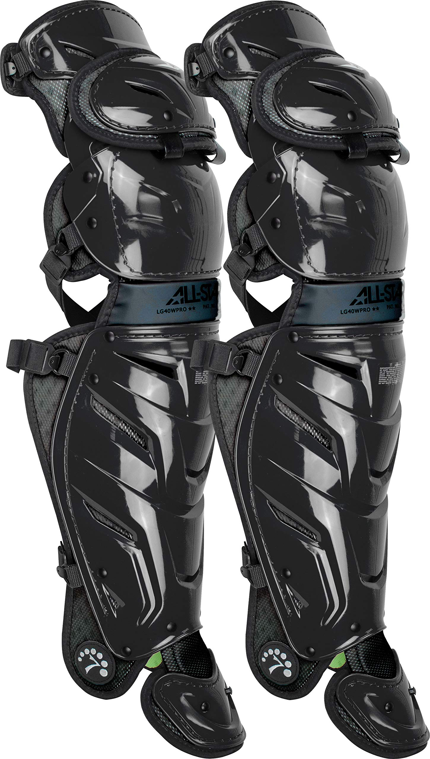 All-Star System 7 Axis Leg Guards Black