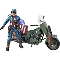 Marvel Figura Capitán América con Moto Action Figure