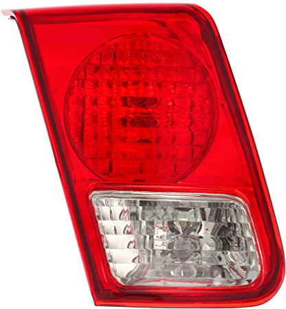 Tail Light Assembly Compatible with 2004-2005 Honda Civic Coupe Passenger Side