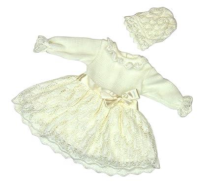 Festliches babykleid creme