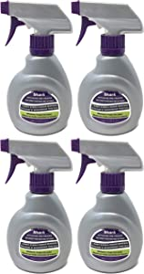 Shark 10oz Activating Pretreater Carpet Stain and Odor Remover Spray Bottle for Sonic Duo, 4-Pack