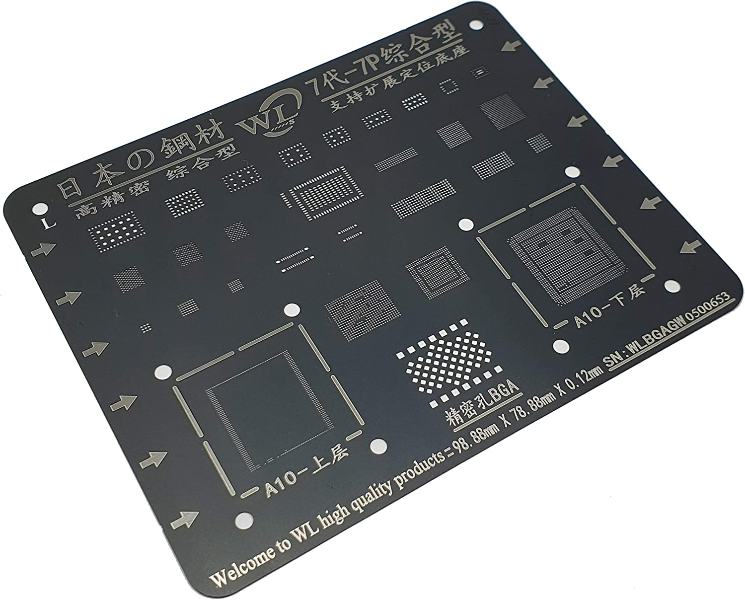 Stencil Phone Repair Stencil Reballing Durable Smart Device for Industry