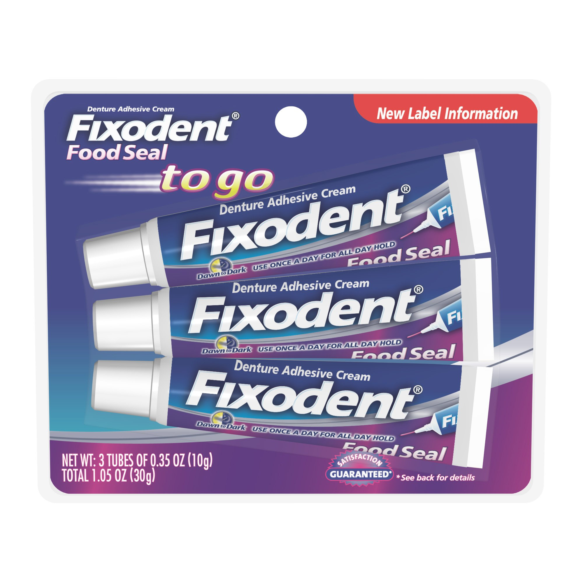 Fixodent Food Seal To Go