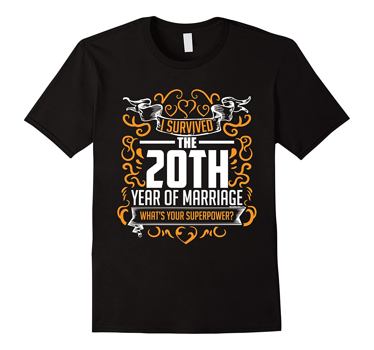 20 Year Wedding Anniversary Gifts For Her: 20th Wedding Anniversary Gifts 20 Year T Shirt For Her And