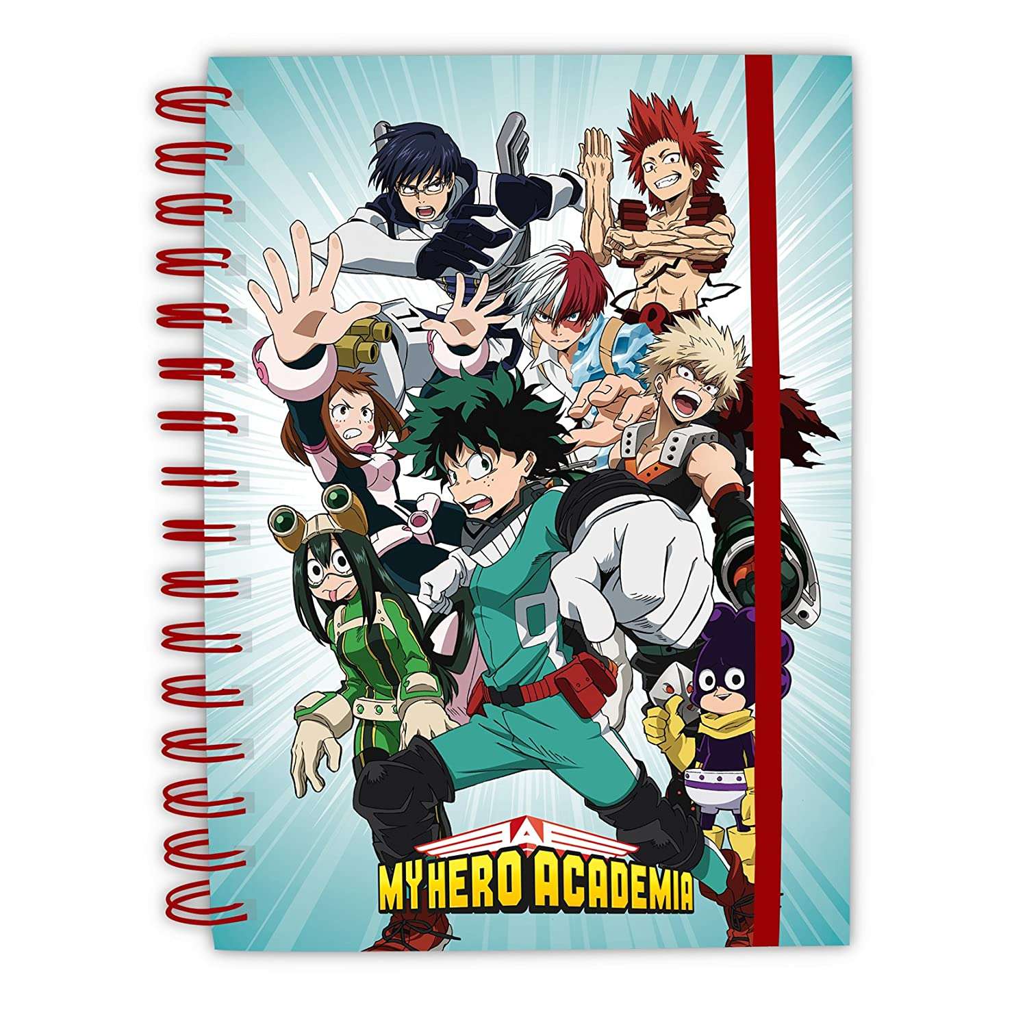 'AbyStyle – My Hero Academia – Held Notebook