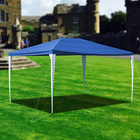wolketon 3x4m Carpas Pabellón Estable Carpa para Fiesta toldo Impermeables Gazebo Estable fácil de desplegar Costuras Selladas de PE: Amazon.es: Jardín