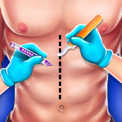Mega Surgery Emergency  Doctor Hospital - Brain, Stomach, Throat, Eye, Knee, Ribcage Simulator