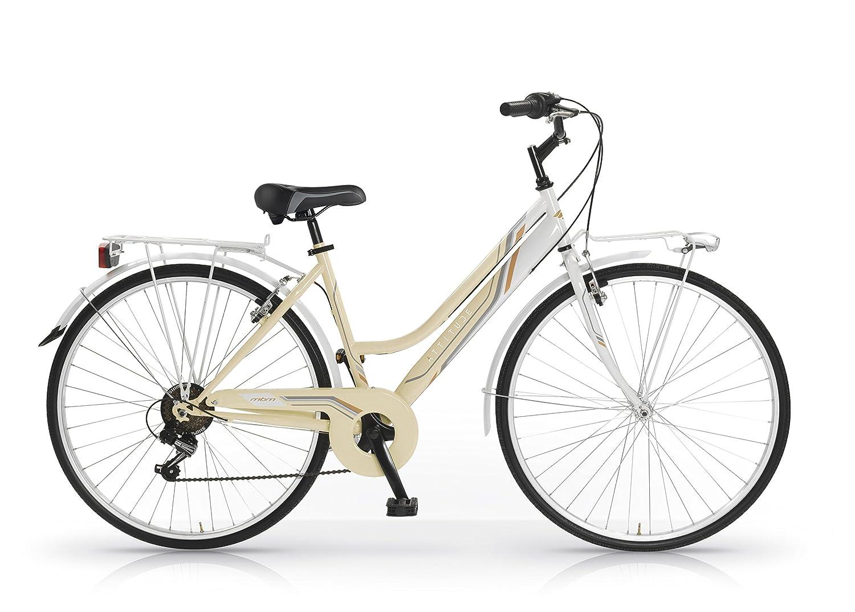 Bicicletas MBM Attitude Mujeres marco de acero de 18 velocidades ...