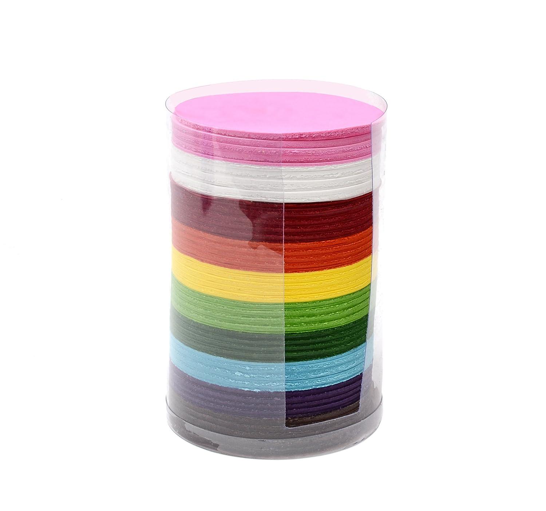 CI Tissue - Confezione da 4600 fazzoletti di carta quadrati, 10 cm, colori vari 58008-CI-101