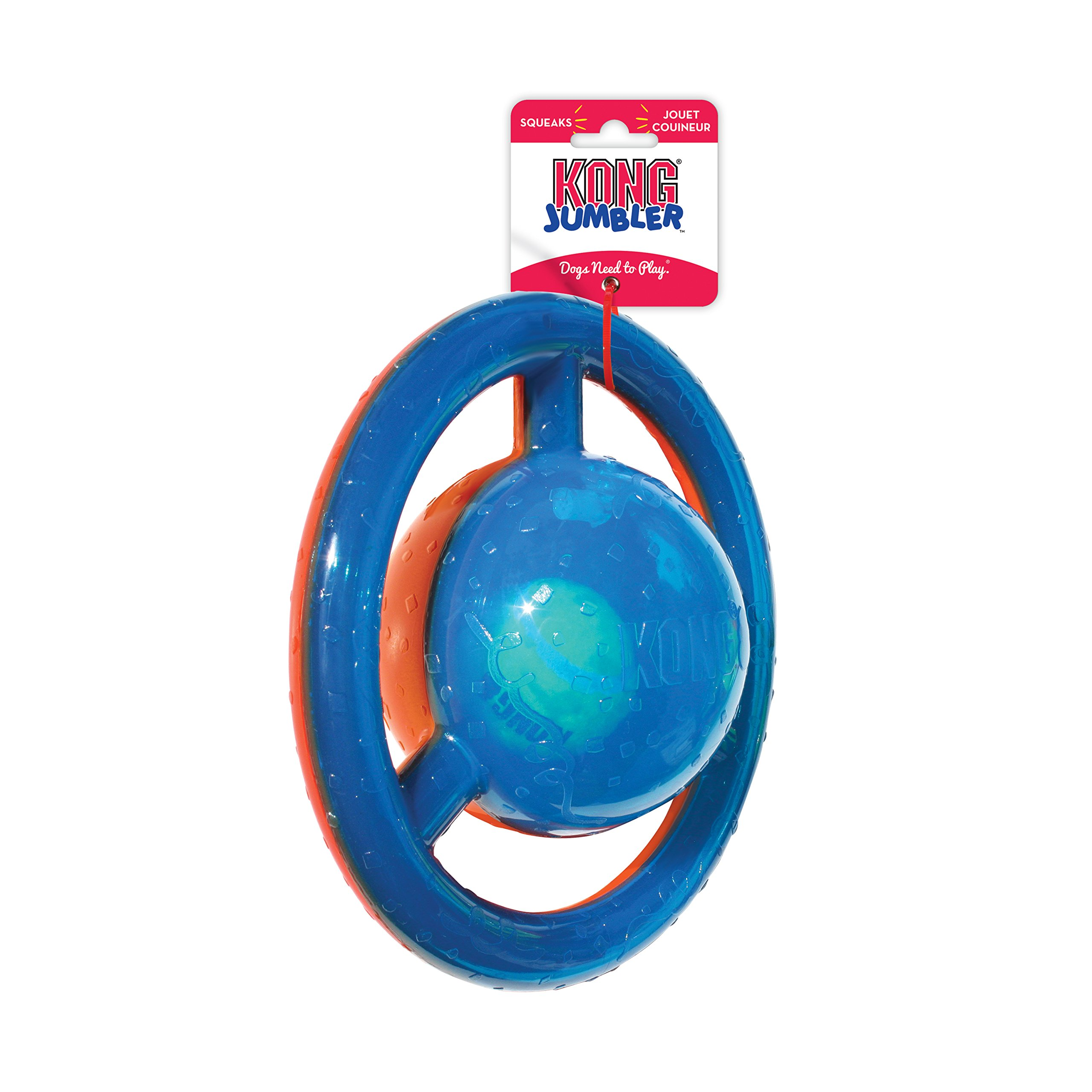 KONG Jumbler Disc Dog Toy, Medium/Large by KONG (Image #3)
