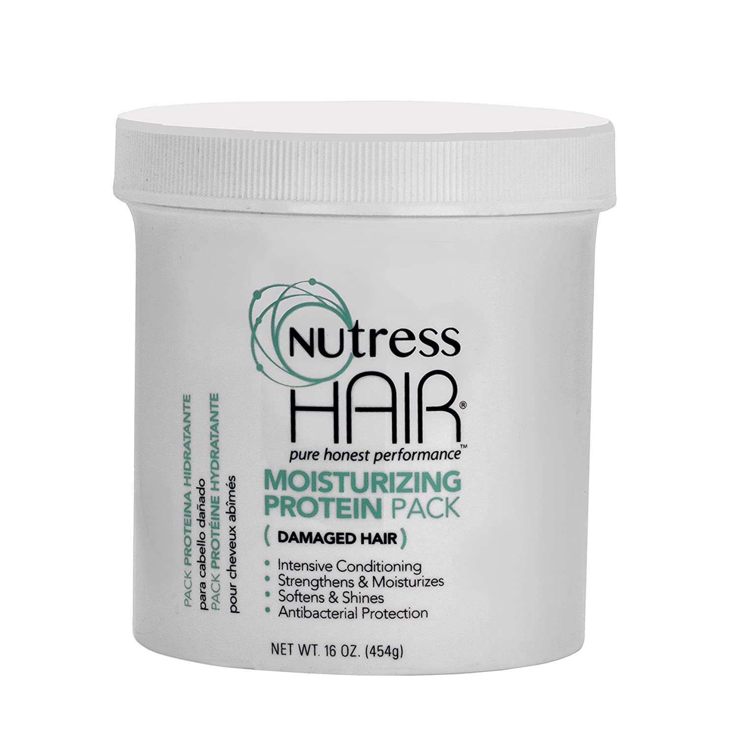 Nutress Hair One-Step Protein Treatment for Damaged Hair 16 oz.