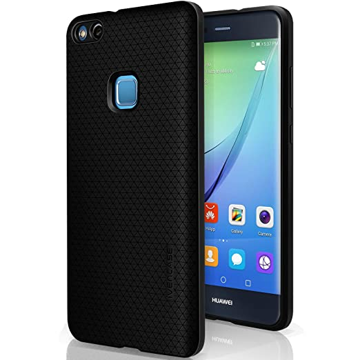 5 opinioni per Cover Huawei P10 Lite , ivencase Nero Custodia Huawei P10 Lite TPU Silicone Anti