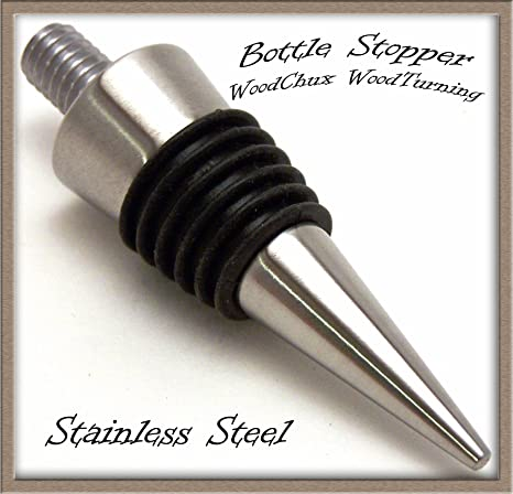 Stainless Steel Cone Bottle Stopper Kit 10 Pack