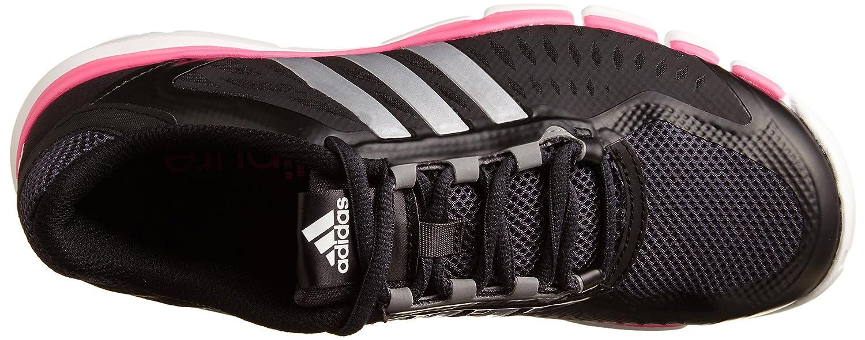 Adidas Performance M18098 - Zapatillas para Deportes de Exterior para Mujer Negro/Plateado, Color, Talla 4,0 UK - 36,2/3 UE