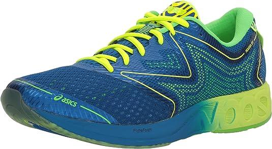 Asics T722N.4507 Zapatillas de Running, 8 de Reino Unido Hombre Imperial/Seguridad Amarillo/Verde del Gecko 8 UK: Amazon.es: Zapatos y complementos