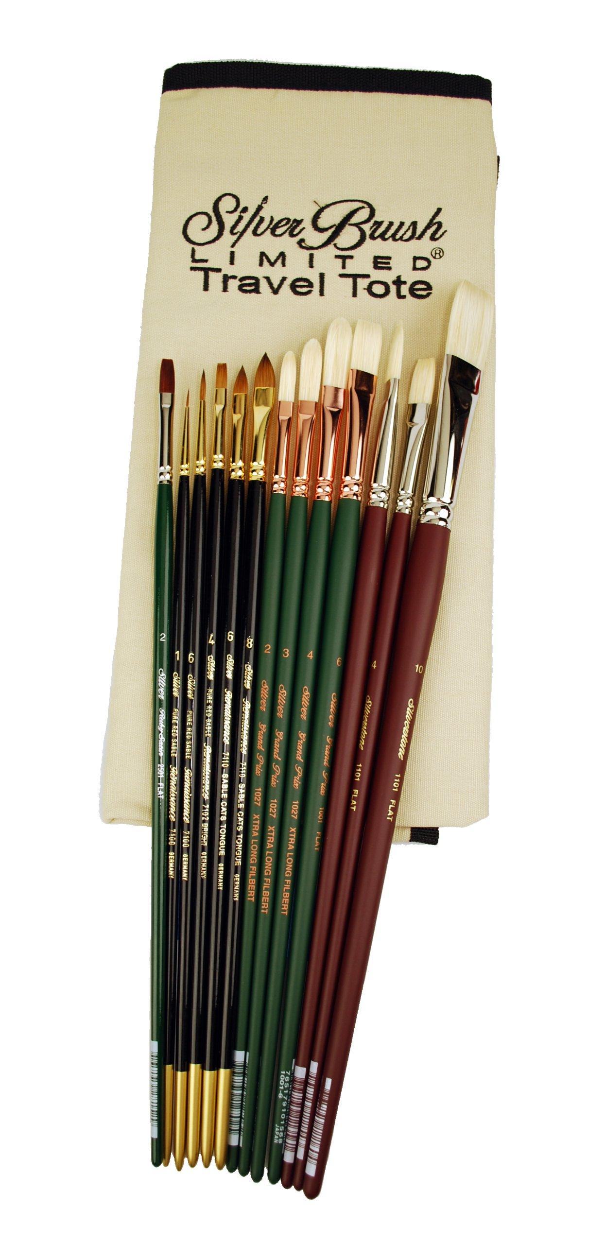 Silver Brush TN-1060 Thomas V. Nash Portrait Intermediate Set, 14 Per Pack