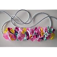 Cinturón de flores Chic
