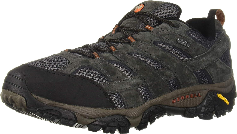 Merrell Mens Moab 2 Waterproof Hiking Shoe Beluga 13