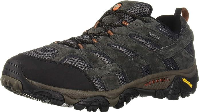 8. Merrell Men's Moab 2 Waterproof Hiking Shoe