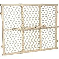 Evenflo posición y bloqueo puerta puerta, Tan Wood, Paquete de 1