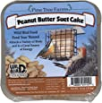 Pine Tree Farms 1110 Suet Peanut Butter Cake, 12-Ounce