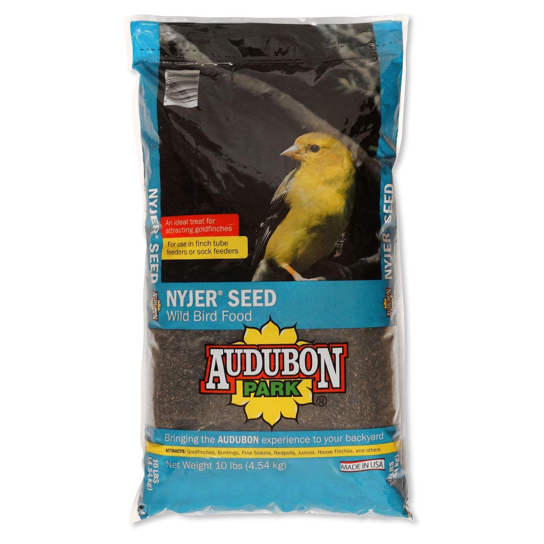 Audubon Park 12236 Nyjer/Thistle Seed Wild Bird Food, 10-Pounds