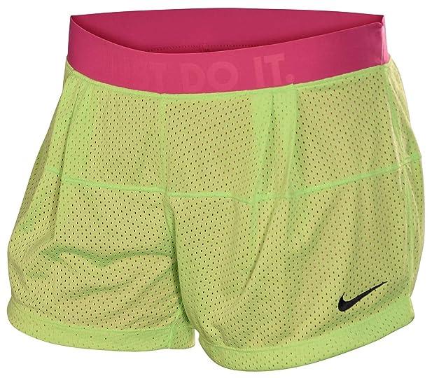 Femmes Nike Dri-fit Deux-en-un Short De Formation De Maille