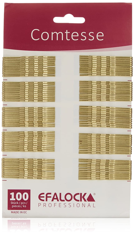 Efalock Comtesse hair pins brown 7 cm