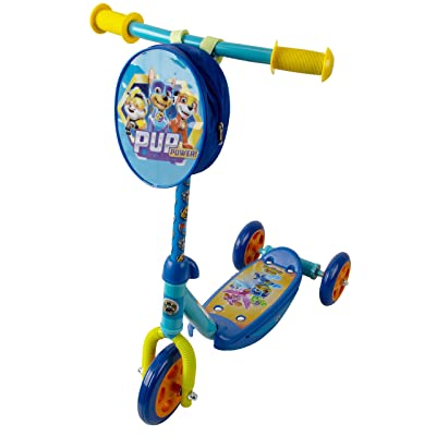 PlayWheels PAW Patrol 3 Wheel Scooter for Kids, Blue : Sports & Outdoors