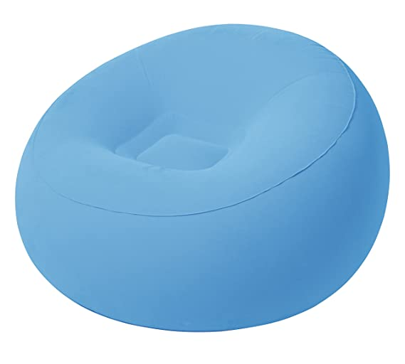 Bestway 75052 - Sillón Hinchable Inflate-A-Chair 112x112x66 cm