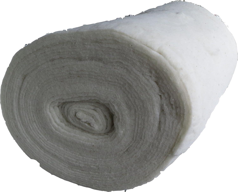 2,5 m lang geeignet als F/üllmaterial Schurwollvlies 1,5 m breit Patchworkvlies EUR 6,63//m/² Vlies Meterware 15 mm dick Woll Volumenvlies aus Schafschurwolle 150g//m/² ca waschbar 3,75 m/²,