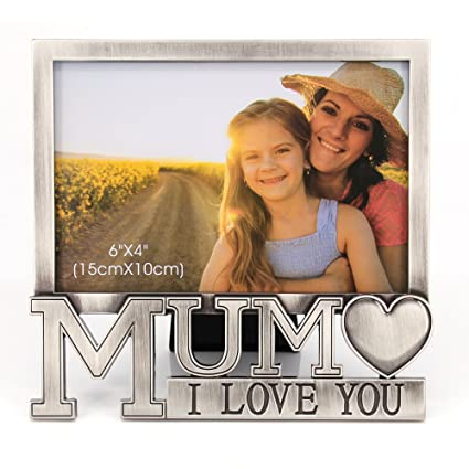 Amazoncom Qtmy 4x6 Mom I Love You Picture Frame Desktop Decor