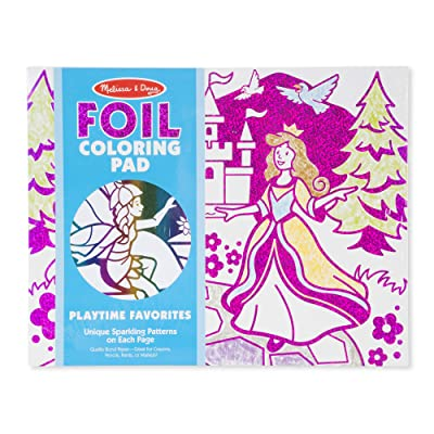 Melissa & Doug Playtime Foil Coloring Pad: Toys & Games