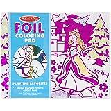 Melissa & Doug  Playtime Foil Coloring Pad