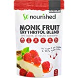 Granular Monk Fruit Sweetener with Erythritol (1.14 KG / 40 OZ) - 1:1 Sugar Replacement - No Calorie Sweetener, Non-GMO, Natural Sugar Substitute (2.5 Pounds)