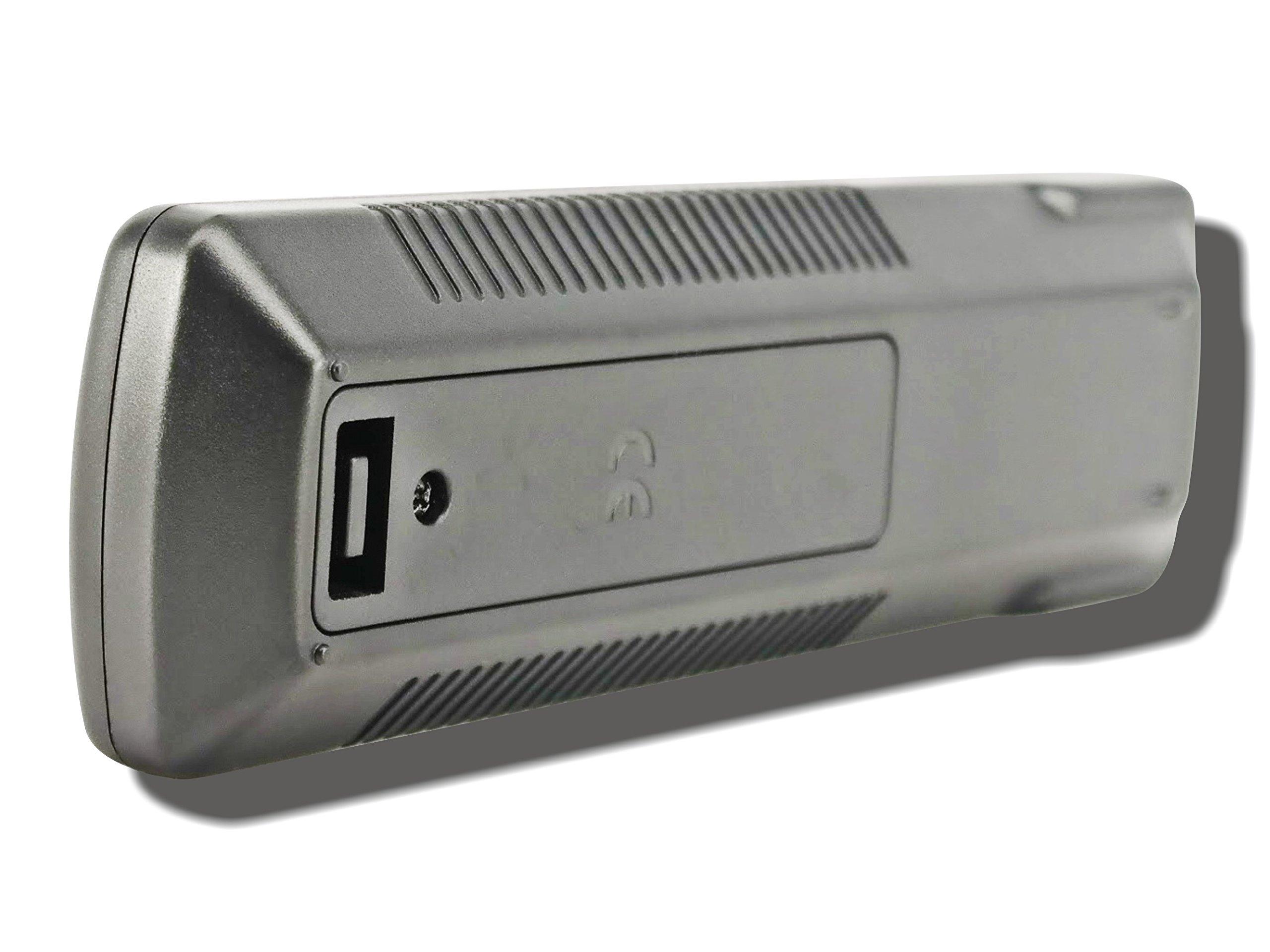 Sony DVP-CX995V TeKswamp Remote Control (Black) by Tekswamp (Image #6)