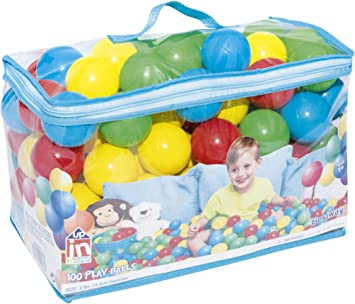 Bestway 52027 - Bolas de Colores para Piscina de Bolas Hinchable ...