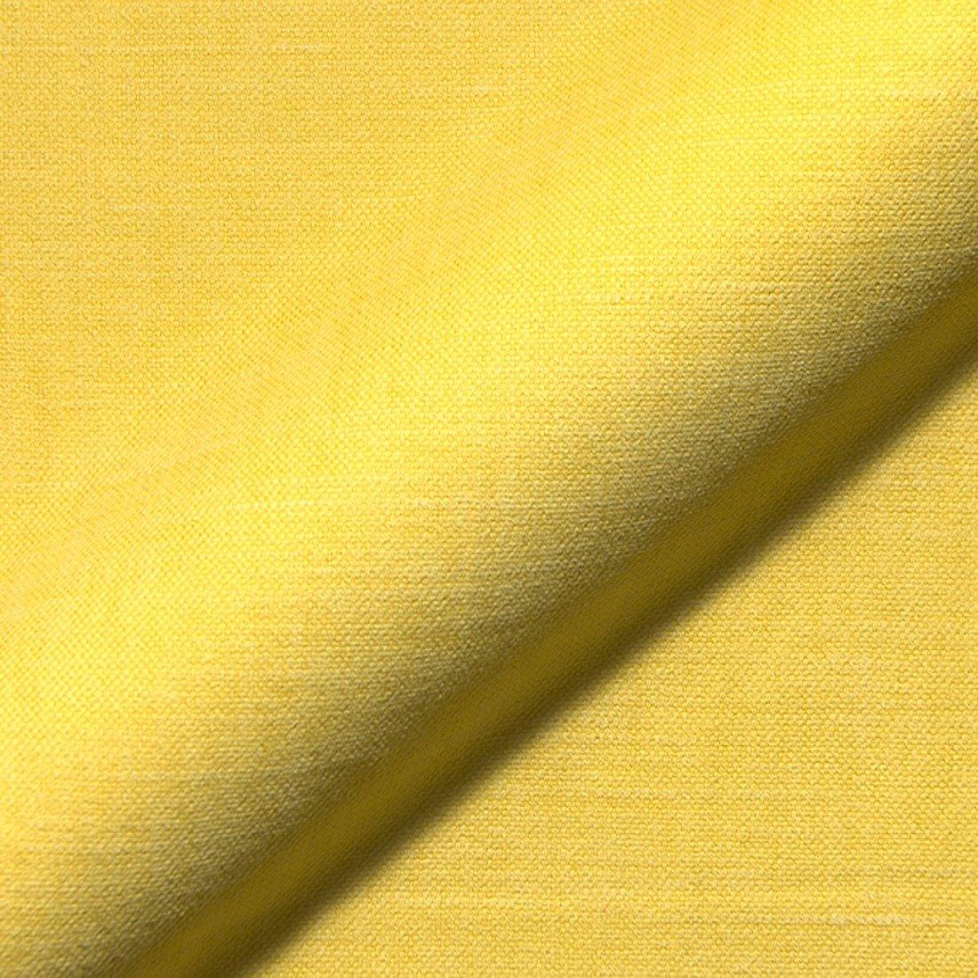 Stoff Polsterstoff Möbelstoff Bezugsstoff Meterware für Stühle, Eckbänke, etc. - Vento Gelb Uni - MUSTER Eckbänke MiBiento Living