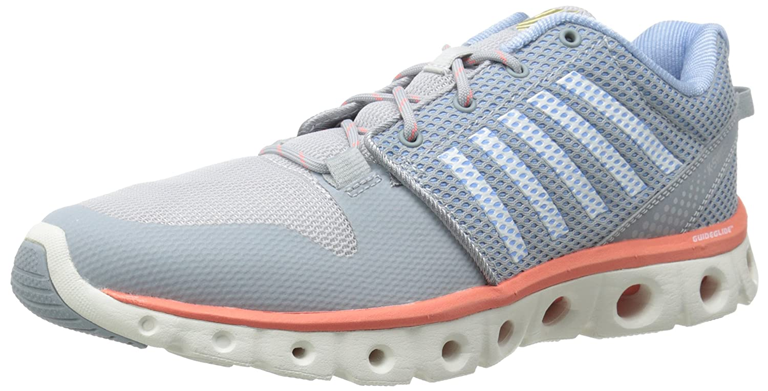 K-Swiss Women's X Lite B00L3LP4JM 6 B(M) US|Quarry/Bright White/Living Coral