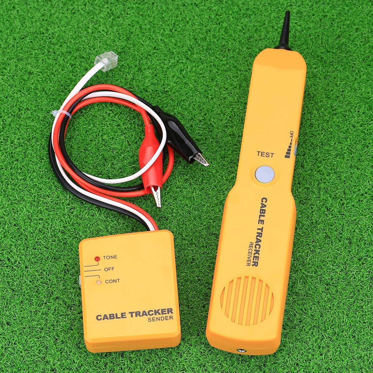 Cable Finder Tone Generator Probe Tracer RJ11 Wire Tracker Network Tester kit