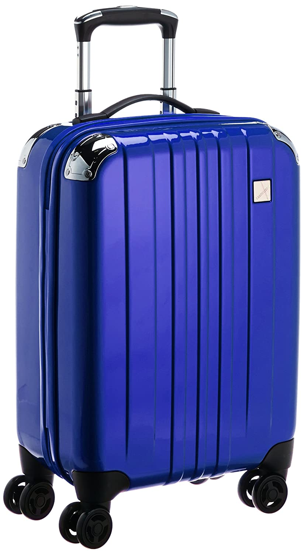 [トラベリスト] スーツケース トラスト ジッパーハード 容量34L 縦サイズ55cm 重量2.8kg 76-20041 B00WQFR47E  ブルー