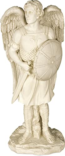 AngelStar Archangel Michael Garden Angel Statue, 24 Inches High, 12204