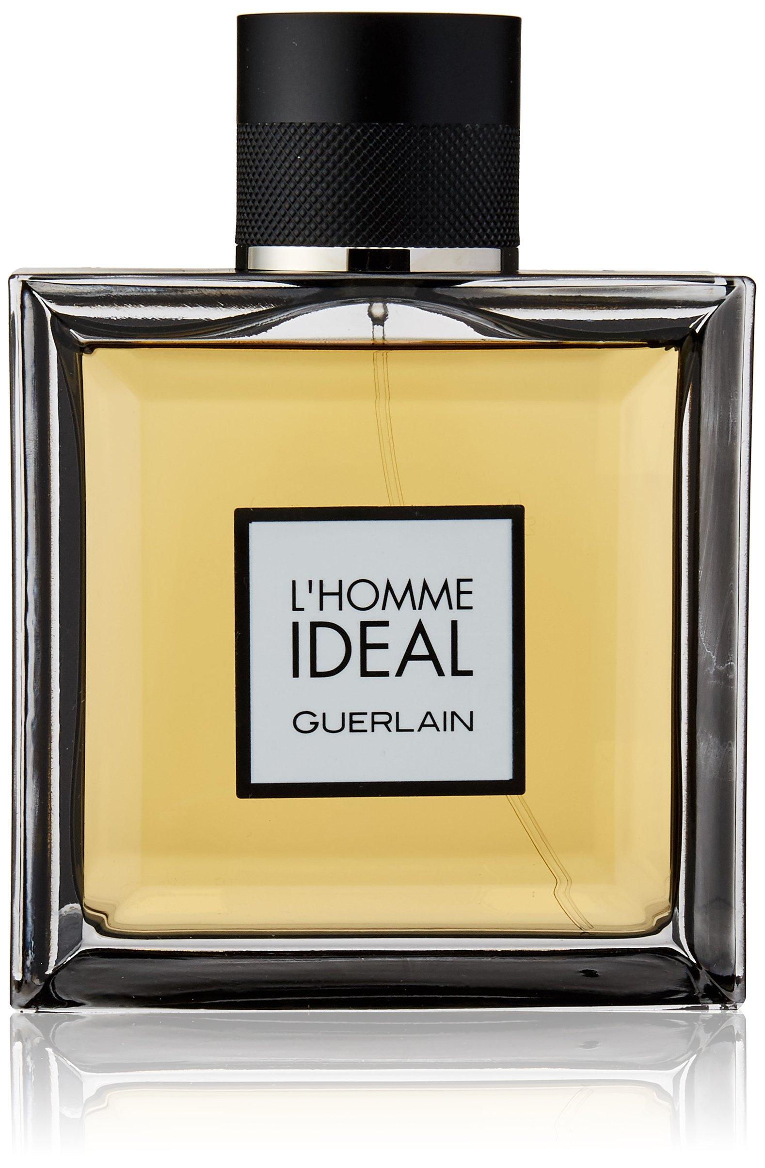 guerlain l 39 homme ideal eau de parfum spray for men 3 3 ounce beauty. Black Bedroom Furniture Sets. Home Design Ideas