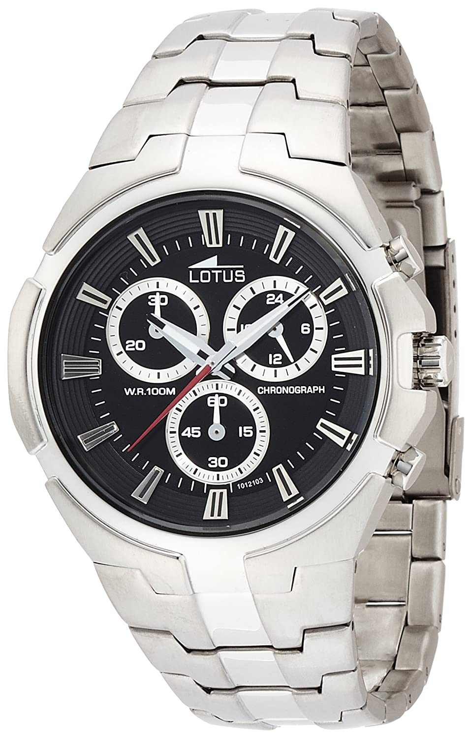 Amazon.com: Lotus Chrono Sport 10121/3 Mens Chronograph very sporty: Watches