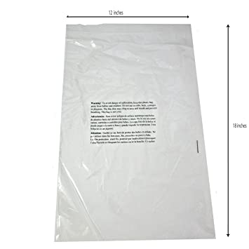 bolsas transparentes 12x18 amazon