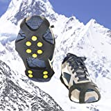 LAWOHO Traction Cleats, Snow Grips Ice Creepers